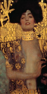 Judith and Holopherne grey Gustav Klimt Oil Paintings