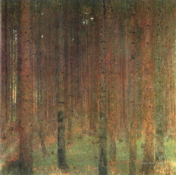 Pine Forest II Gustav Klimt Oil Paintings