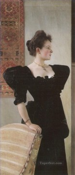 Portrait of Marie Breunig Gustav Klimt Oil Paintings
