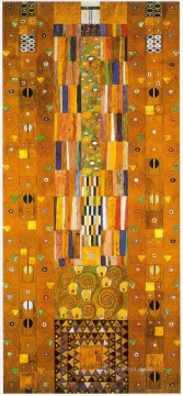 klimt kiss Painting - Design for the Stocletfries Gustav Klimt