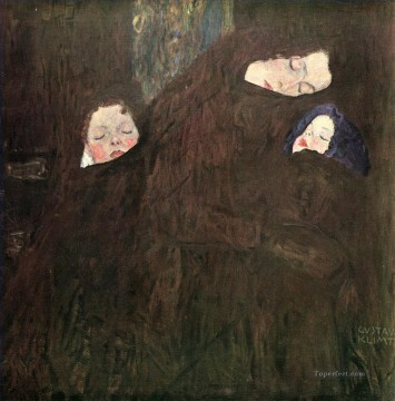 Gustave Klimt Painting - Mother with Children Gustav Klimt