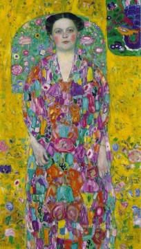 Portrait Of Eugenia Primavesi Gustav Klimt Oil Paintings