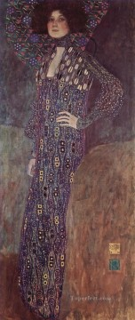 Portrait of Emilie Floge 2 Gustav Klimt Oil Paintings