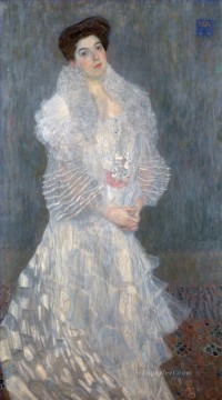 Portrait of Hermine Gallia Gustav Klimt Oil Paintings