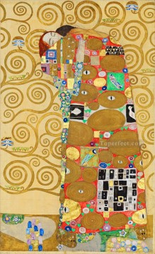 The Tree of Life Stoclet Frieze right Gustav Klimt Oil Paintings