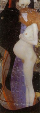 yxm031jD Symbolism Gustav Klimt Oil Paintings
