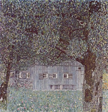 Gustave Klimt Painting - Farmhouse in Upper Austria Gustav Klimt