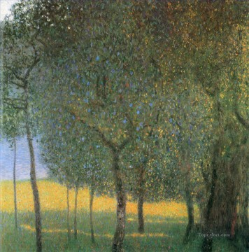 Fruit Trees Gustav Klimt Oil Paintings