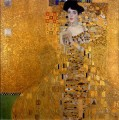 Gustav Klimt Portrait of Woman in Gold