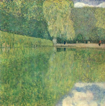 Park of Schonbrunn Gustav Klimt Oil Paintings