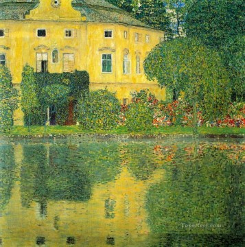 Schloss Kammer on the Attersee IV Gustav Klimt Oil Paintings