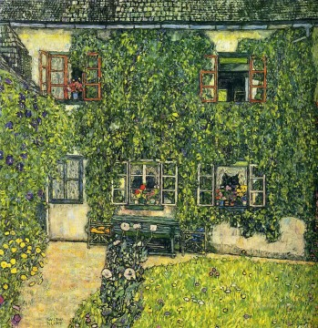 Gustave Klimt Painting - The House of Guardaboschi Gustav Klimt