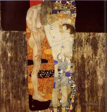 Gustave Klimt Painting - The Three Ages of Woman Gustav Klimt
