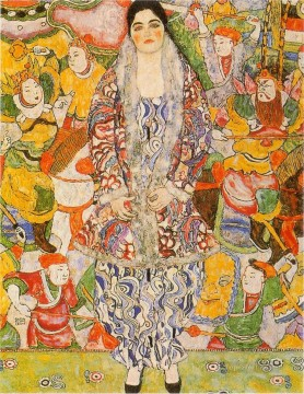 Portratder Friederike Maria Beer Symbolism Gustav Klimt Oil Paintings