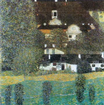 Schloss Kammer am Attersee II Gustav Klimt Oil Paintings