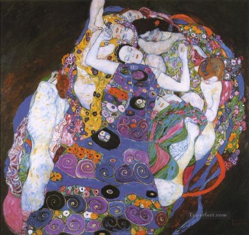 The Virgin Gustav Klimt Oil Paintings