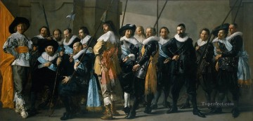 Frans Hals Painting - Company of Captain Reinier Reael known as theMeagre Company portrait Dutch Golden Age Frans Hals