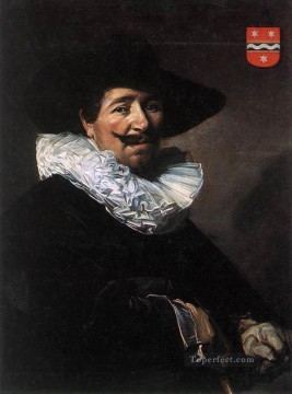 portrait - Andries Van Der Horn portrait Dutch Golden Age Frans Hals