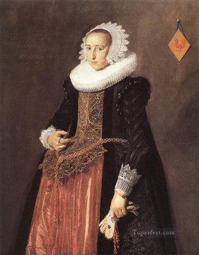 Frans Hals Painting - Anetta Hanemans portrait Dutch Golden Age Frans Hals