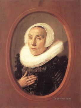 portrait - Anna Van Der Aar portrait Dutch Golden Age Frans Hals
