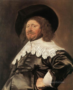 portrait - Claes Duyst Van Voorhout portrait Dutch Golden Age Frans Hals