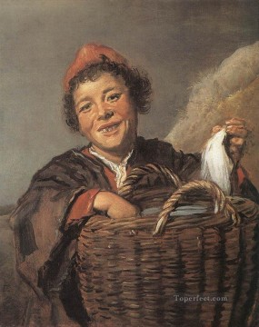 Frans Hals Painting - Fisher Boy portrait Dutch Golden Age Frans Hals