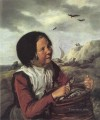 Fisher Girl portrait Dutch Golden Age Frans Hals