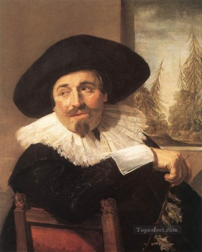 portrait - Isaac Abrahamsz Massa portrait Dutch Golden Age Frans Hals