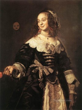 portrait - Isabella Coymans portrait Dutch Golden Age Frans Hals