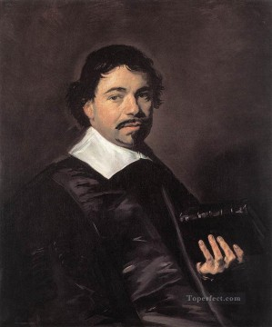 portrait - Johannes Hoornbeek portrait Dutch Golden Age Frans Hals