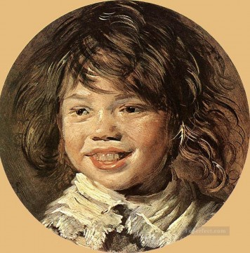 Frans Hals Painting - Laughing Child portrait Dutch Golden Age Frans Hals