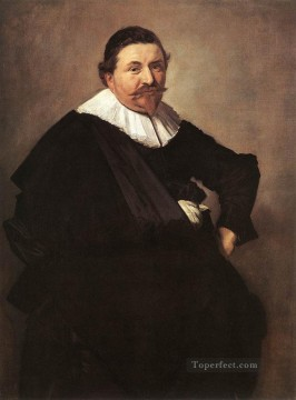 portrait - Lucas De Clercq portrait Dutch Golden Age Frans Hals