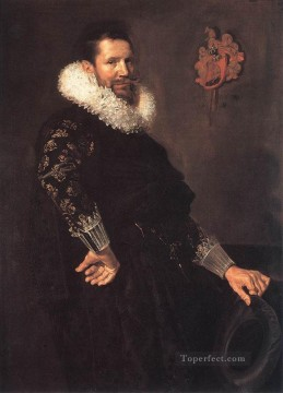 Frans Hals Painting - Paulus Van Beresteyn portrait Dutch Golden Age Frans Hals