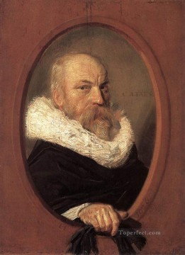 portrait - Petrus Scriverius portrait Dutch Golden Age Frans Hals