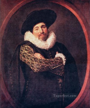Frans Hals Painting - Portrait Dutch Golden Age Frans Hals