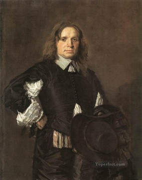 Portrait Of A Man  Dutch Golden Age Frans Hals Oil Paintings