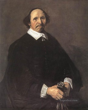 portrait - Portrait Of A Man 1555 Dutch Golden Age Frans Hals