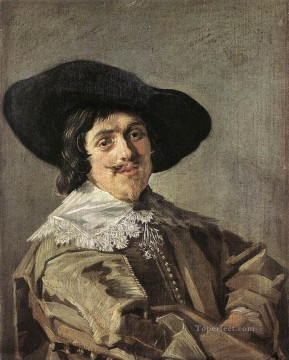 Frans Hals Painting - Portrait Of A Man 1635 Dutch Golden Age Frans Hals