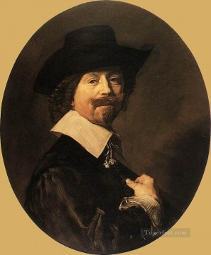 portrait - Portrait Of A Man 1644 Dutch Golden Age Frans Hals
