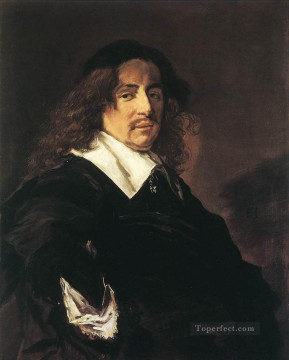 Frans Hals Painting - Portrait Of A Man 1650 Dutch Golden Age Frans Hals