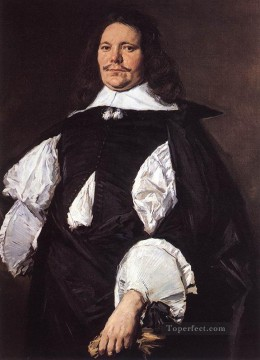 Frans Hals Painting - Portrait Of A Man 2 Dutch Golden Age Frans Hals