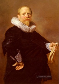 Frans Hals Painting - Portrait Of A Man Dutch Golden Age Frans Hals