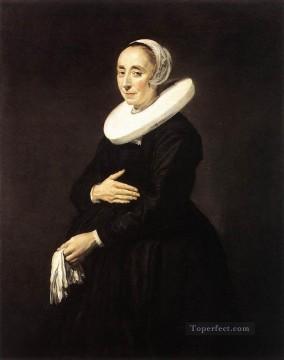 Frans Hals Painting - Portrait Of A Woman 16401 Dutch Golden Age Frans Hals