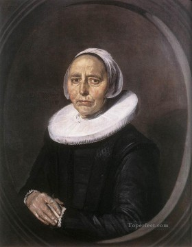 portrait - Portrait Of A Woman 16402 Dutch Golden Age Frans Hals