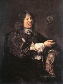 Frans Hals Painting - Stephanus Geraerdts portrait Dutch Golden Age Frans Hals
