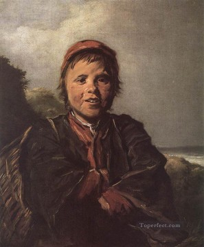 portrait - The Fisher Boy portrait Dutch Golden Age Frans Hals