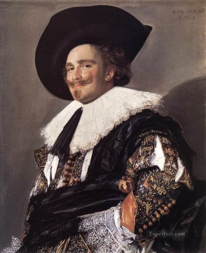 Frans Hals Painting - The Laughing Cavalier portrait Dutch Golden Age Frans Hals