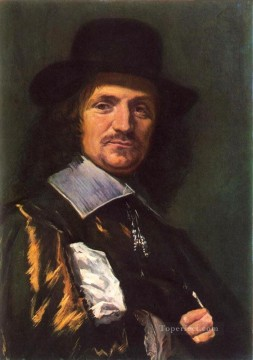 Frans Hals Painting - The Painter Jan Asselyn portrait Dutch Golden Age Frans Hals