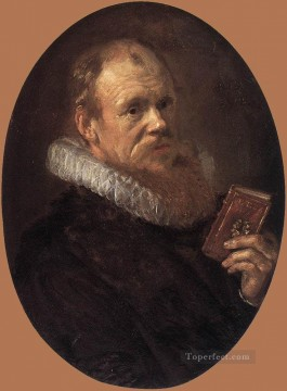 Frans Canvas - Theodorus Schrevelius portrait Dutch Golden Age Frans Hals
