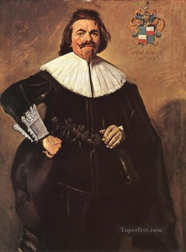 Frans Hals Painting - Tieleman Roosterman portrait Dutch Golden Age Frans Hals